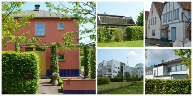 Inget hus är det andra likt på Bo97-området. Bild: Magnus Ornhammar.